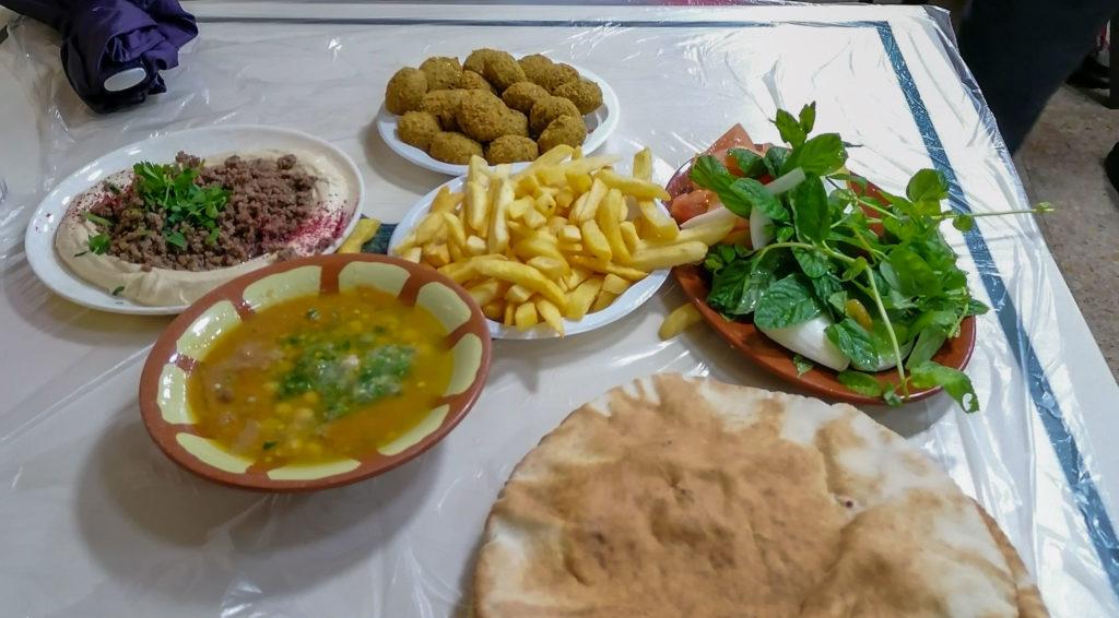 plats typiques restaurant Hashem