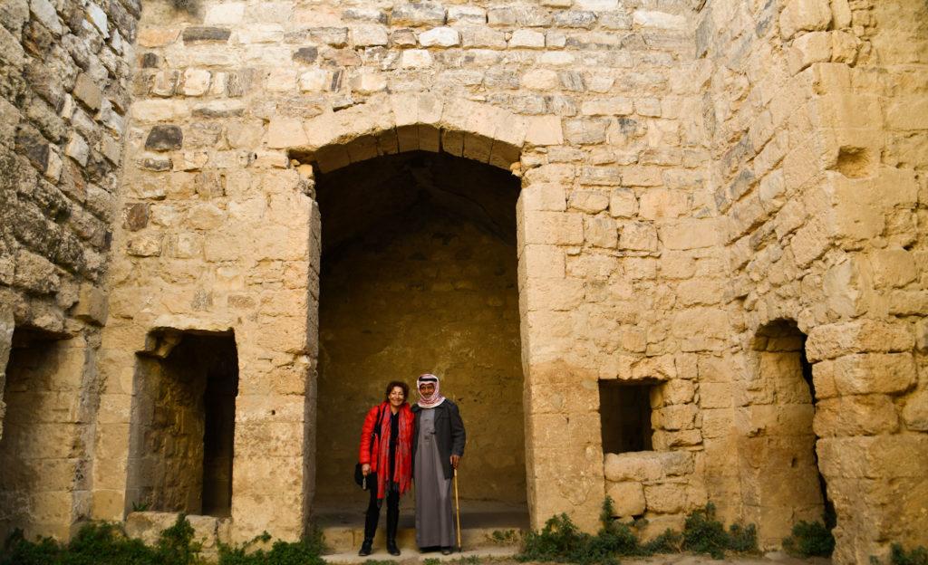 visite de kerak avec un bedouin