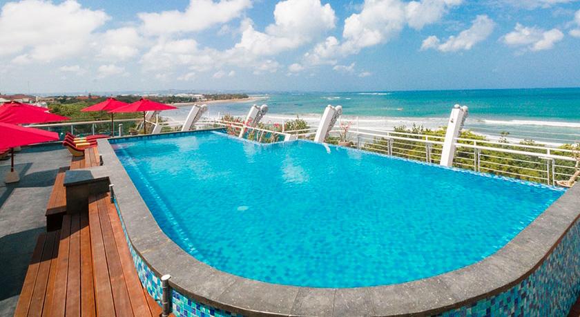 HOTEL PAS CHER KUTA - piscine à débordement