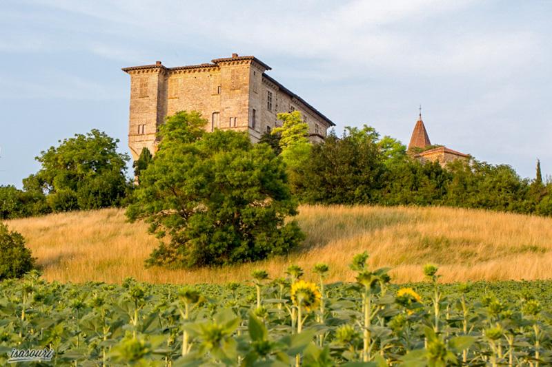 Lavardens dernière étape de mon circuit des plus beaux villages du Gers