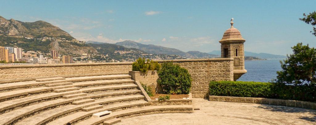 Monaco dans le Sud de la France