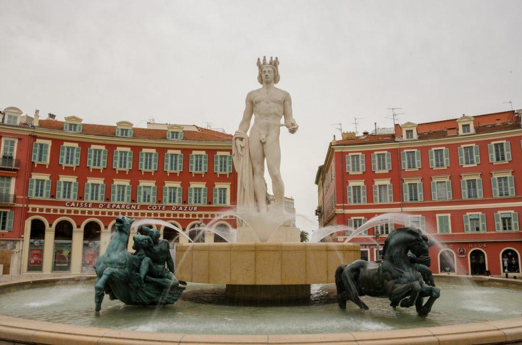 Itinéraire Nice à pied -  La magnifique Place Masséna