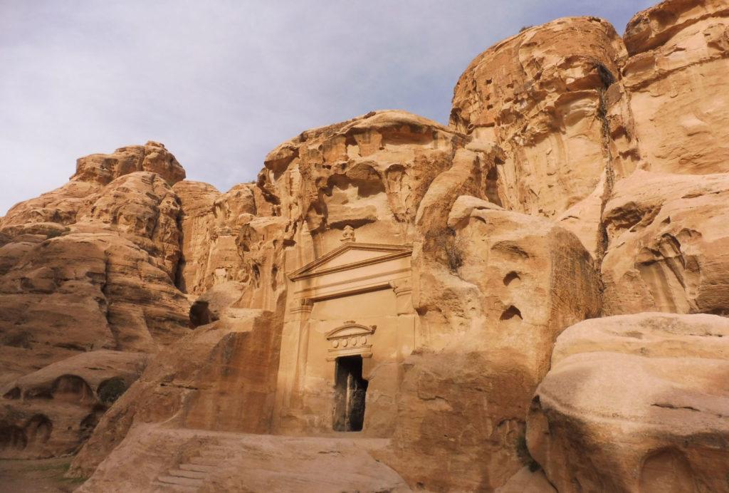 Découverte de la Petite Petra le matin