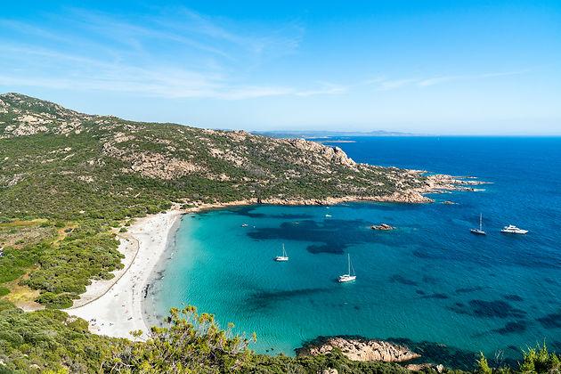 Corse du Sud et laPlage de Roccapina