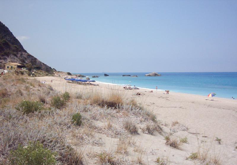 ETAPE PLAGE sur mon road trip de 15 jours en Grèce