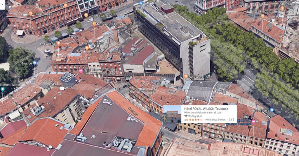 3 meilleurs hotels pas chers à Toulouse HOTEL ROYAL WILSON