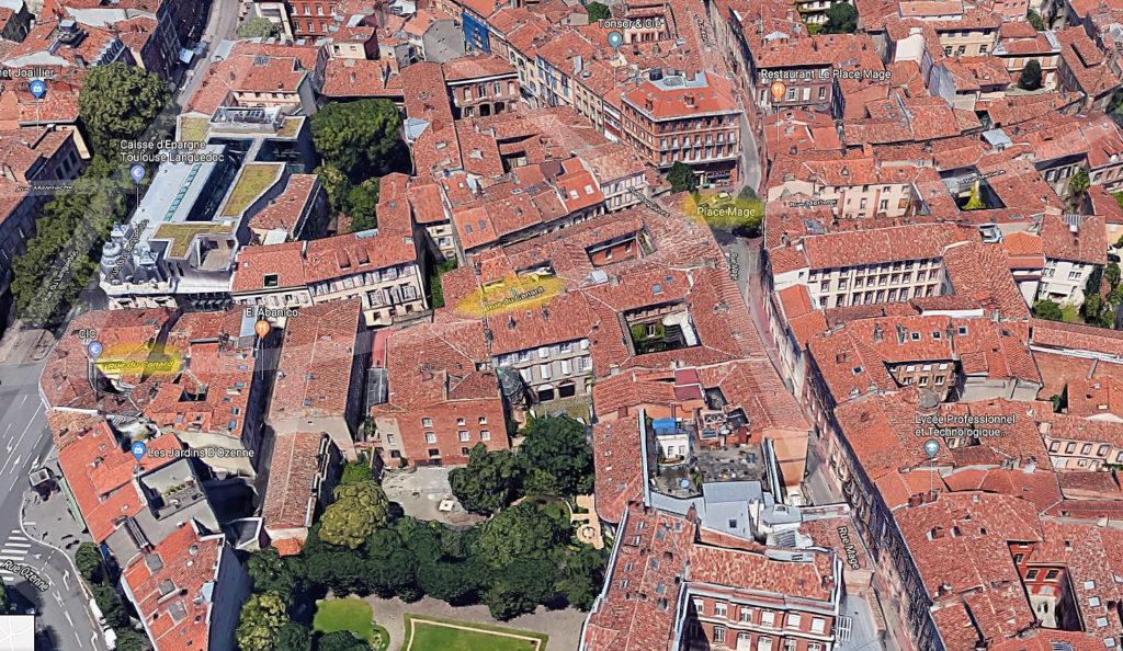 3 meilleurs hotels pas chers Toulouse Appartement rue du Canard