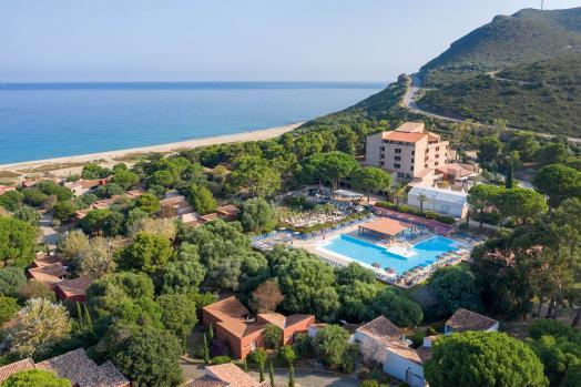 Résidence de vacances bord de mer en France en Corse