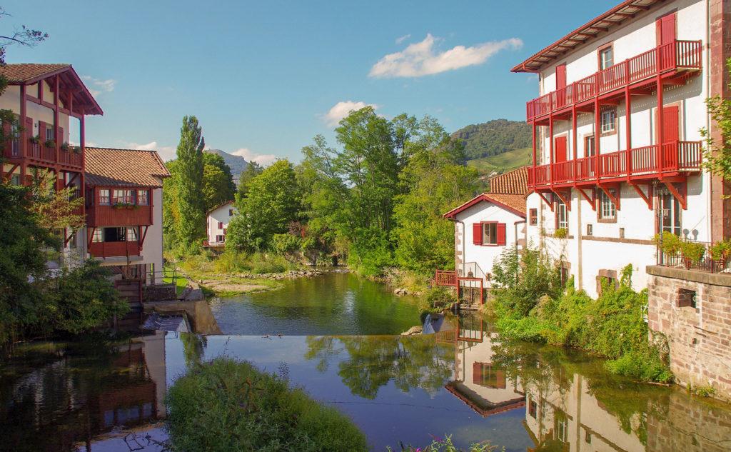 Saint-Jean-Pied-de-Port est un magnifique village classé au Patrimoine Mondial de l'humanité