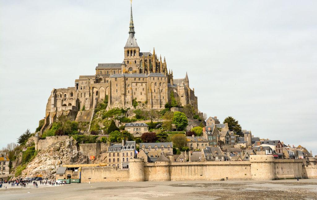 1 semaine en France de Bretagne à Bordeaux 1ère étape Mont Saint Michel