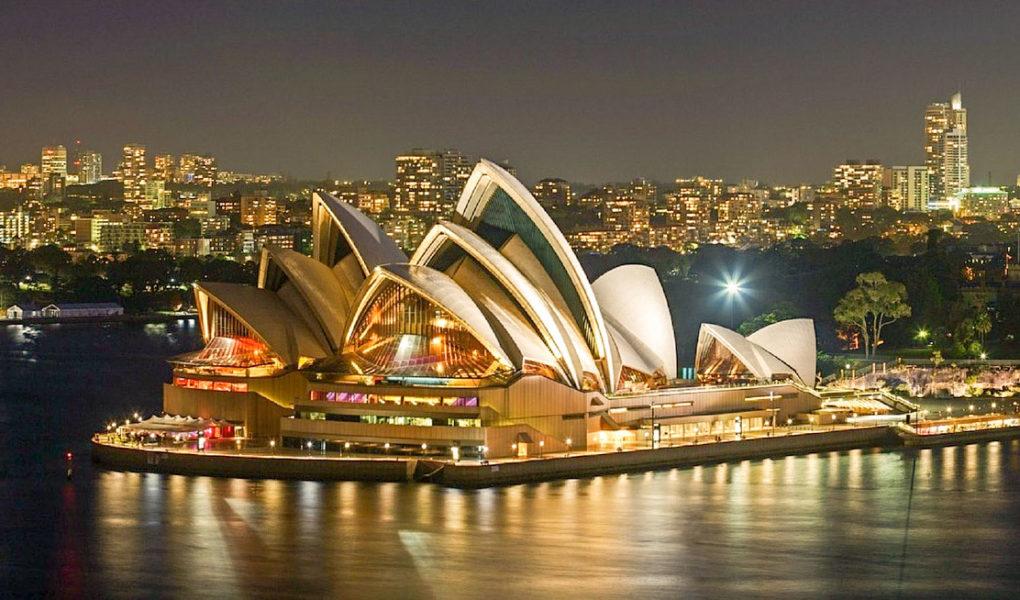 Australie pour mon circuit de 3 semaines