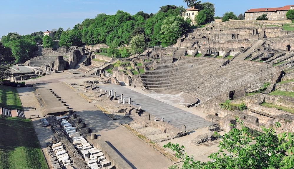 week-end à Lyon visite de théâtre galo romain lyon