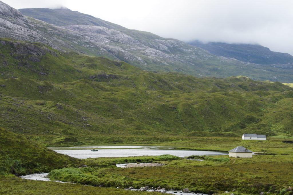 Loch et lacs autour de Torridon dans les Highlands