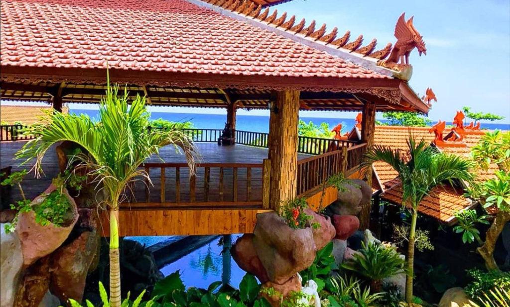 Vue du meilleur bon plan hôtel à CANGGU