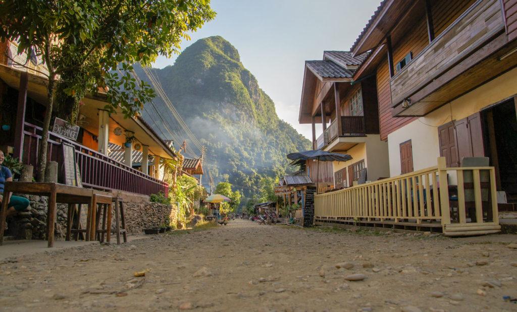 Village de Muang Ngoy